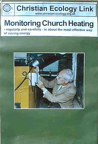 Monitoring church heating is the most effective way to improve enrgy efficiency in the average church