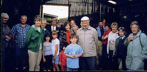 The group visits Lee Gate Sept 1999