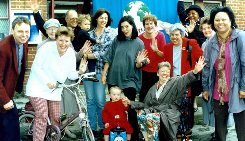 Churches in Croydon supporting Car Free Sunday     in 1998