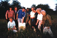 Harrogate CEL group visit farm conservation scheme