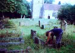 Nature Conservation in the Churchyard at Studley Parish Church
